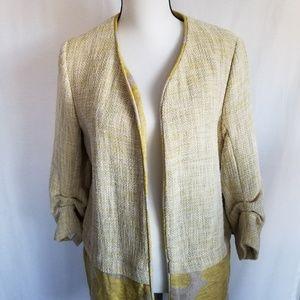 Zara Long Jacket New With Tags